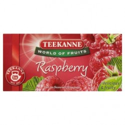 TEEKANNE malina, World of Fruits, 20 sáčků, 50g