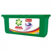 Ariel Power capsules color & style gelové kapsle na praní barevného prádla 32 praní