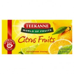 TEEKANNE Citrus Fruits, World of Fruits, 20 sáčků, 45g