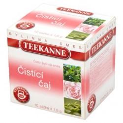 TEEKANNE Čistící čaj, bylinná směs, 10 sáčků, 16g