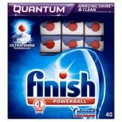 Finish Quantum Powerball tablety do myčky nádobí 40 ks 712g