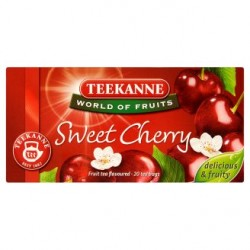 TEEKANNE Sladké višně, World of Fruits, 20 sáčků, 50g