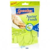 Spontex Natur fresh extra absorbent rukavice L 8-8 1/2