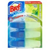 Bref Duo-Aktiv Lime&Mint WC blok Náhradní náplně 3x60ml