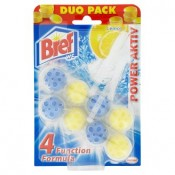 Bref Power Aktiv Lemon WC blok 2x50g