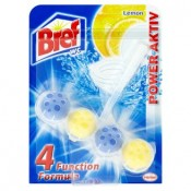 Bref Power Aktiv Lemon WC blok 50g