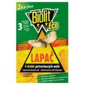 Biolit Eco Lapač 4 druhů potravinových molů 2 ks