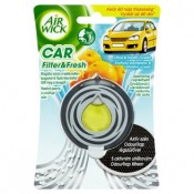 Air Wick Car filter & fresh Osvěžovač vzduchu do auta exotický pomeranč & chladivý oceán 3ml