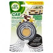 Air Wick Car filter & fresh Osvěžovač vzduchu do auta svěží vanilka & voňavé květy 3ml