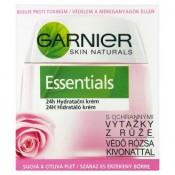 Garnier Skin Naturals Essentials 24h hydratační krém s ochrannými výtažky z růže 50ml