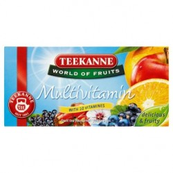 TEEKANNE Multivitamin, World of Fruits, 20 sáčků, 50g