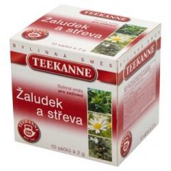 TEEKANNE Žaludek a střeva, bylinná směs, 10 sáčků, 20g