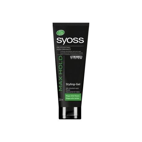 Syoss Max Hold stylingový gel mega silná fixace 250ml