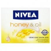 Nivea Honey & Oil krémové mýdlo 100g