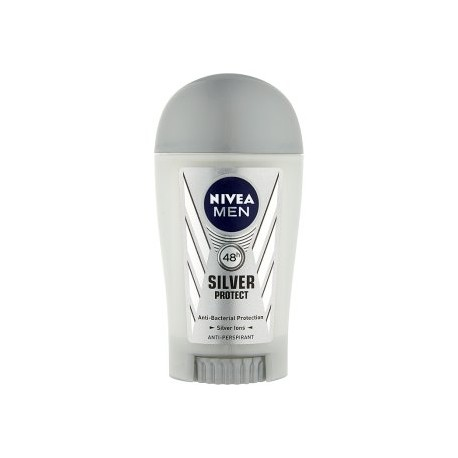 Nivea Men Silver Protect tuhý antiperspirant 40ml
