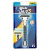 Gillette Blue 3 Holicí strojek se zvlhčujícím páskem