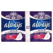 Always Platinum Ultra super plus hygienické vložky s jemnou vůní 12 ks
