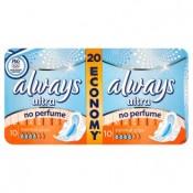 Always Ultra Normal plus hygienické vložky 20 ks