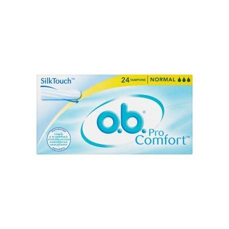 O.B. ProComfort Tampony normal 24 ks