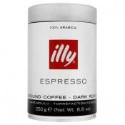 illy Espresso tmavě pražená mletá káva 250g