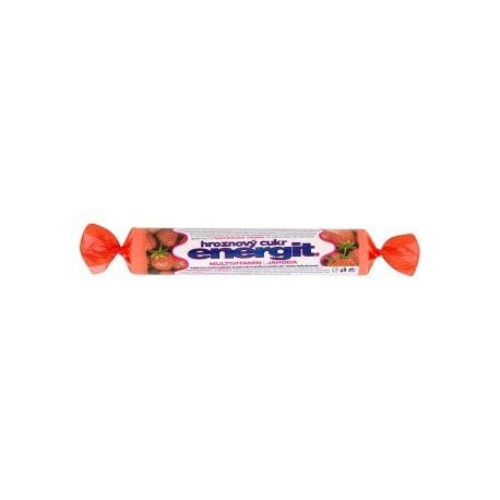 Energit Multivitamin jahoda hroznový cukr 37,4g