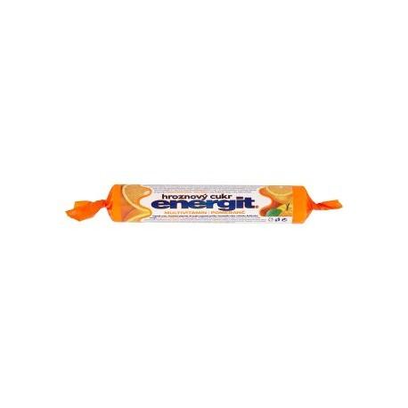 Energit Multivitamin pomeranč hroznový cukr 37,4g