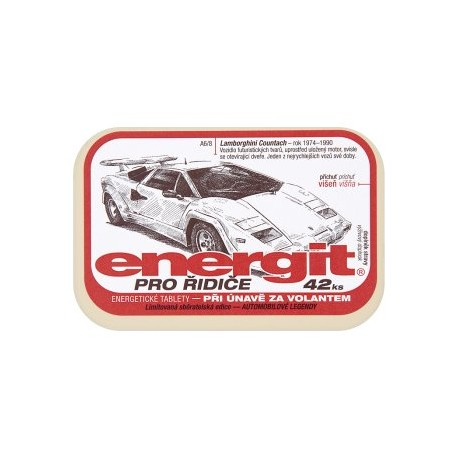 Energit Pro řidiče energetické tablety 42 ks 38g
