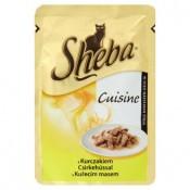 Sheba Cuisine Kuřecí maso kompletní krmivo pro dospělé kočky 85g