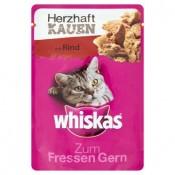 Whiskas Gusto Hovězí maso kompletní krmivo pro dospělé kočky 85g