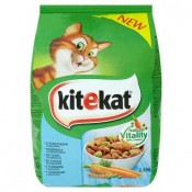 Kitekat Tuňák se zeleninou kompletní krmivo pro dospělé kočky 1,8kg