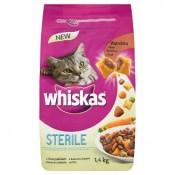 Whiskas Sterile kuřecí maso kompletní krmivo pro kastrované dospělé kočky 1,4kg