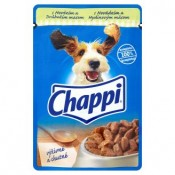 Chappi Hovězí a drůbeží kompletní krmivo pro dospělé psy 100g