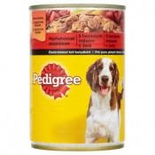 Pedigree Hovězí maso v želé kompletní krmivo pro dospělé psy 400g