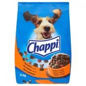 Chappi Křupavé kousky s hovězím masem a zeleninou kompletní krmivo pro dospělé psy 3kg