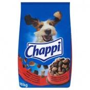 Chappi S hovězím a drůbežmí masem kompletní krmivo pro dospělé psy 10kg