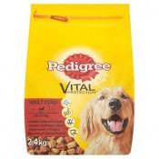 Pedigree Vital Protection Adult s hovězím a drůbežím masem kompletní krmivo pro dospělé psy 2,4 kg