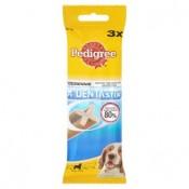 Pedigree Dentastix Doplňkové krmivo pro psy starší 4 měsíců 3 ks 77g