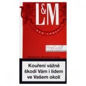 L&M Red label cigarety s filtrem 10 krab./ 20 ks