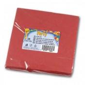 Papírové uábrousky - dvouvrstvé, bordó, 20 ks