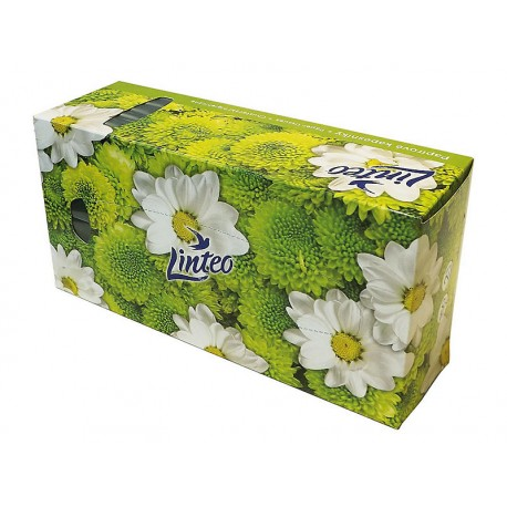 Kapesníčky papírové Linteo 2-vrstvé - box 150 ks