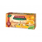 TEEKANNE Orange & Ginger, World of Fruits, 20 sáčků, 45g