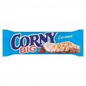 Corny Big cereální tyčinka s rozinkami a oříšky v mléčné čokoládě 50g