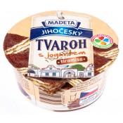 Madeta Jihočeský Tvaroh s jogurtem 60% čokoláda 135g